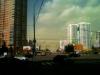 зеленые облака над Москвой 26.04.12