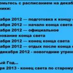 Конец света 21 декабря 2012 отменяется!