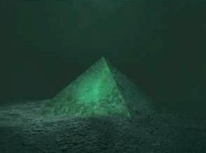 Обнаружена пирамида на дне Бермудского треугольника