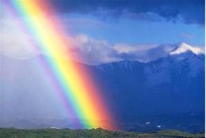 фотография радуги