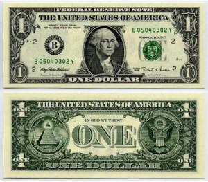 Тайны однодолларовой купюры