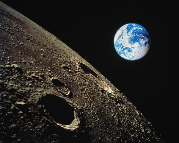 Космос луна фото
