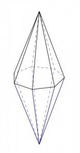Схематическое изображение Кристалла Мудрости и Познания
