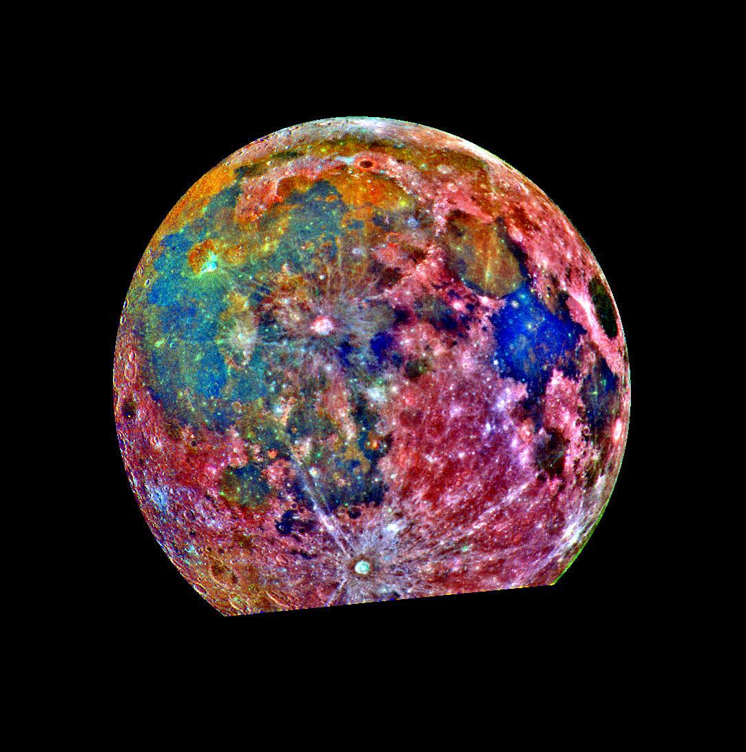 Цветная Луна (фото)
