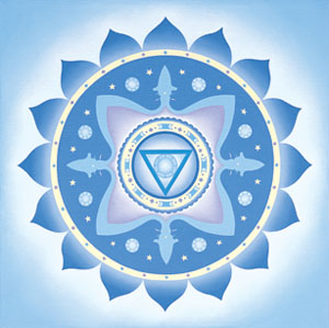Вишудха (vishuddha) чакра