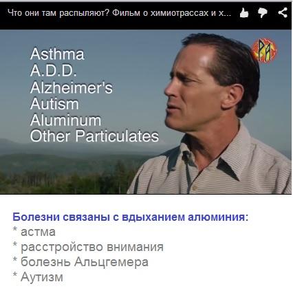 Болезни связаны с вдыханием алюминия