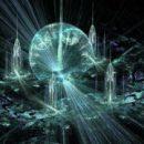 Кристаллическая решетка и кристаллический поток жизни