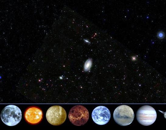 гугл космос онлайн