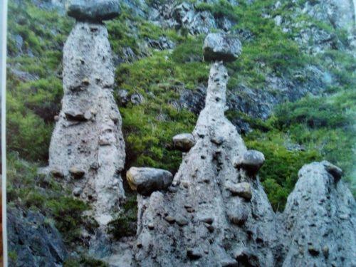 чудо Алтая - огромные каменные грибы в долине реки Чулышман