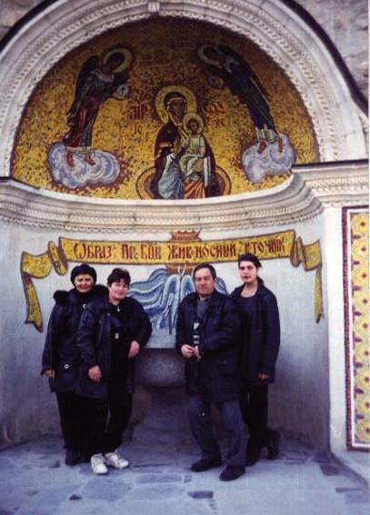 Бахчисарай. Успенский мужской монастырь