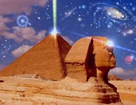 Иллюстрация того, как пирамиды могут производить энергию