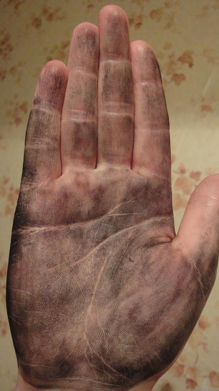 Как выглядит рука хироманта