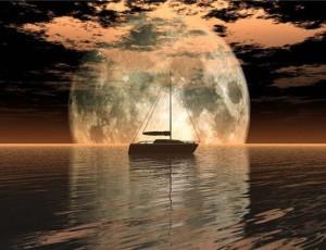 Луна, о солнечной системе с тонких планов
