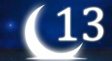 Толкование снов в 13 тринадцатый лунный день