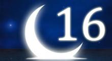 Толкование снов в 16 шестнадцатый лунный день