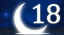 Толкование снов в 18 восемнадцатый лунный день