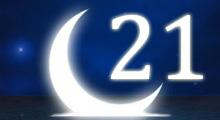 Толкование снов в 21 двадцать первый лунный день