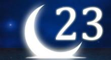 Толкование снов в 23 двадцать третий лунный день