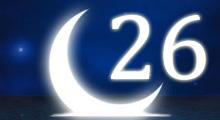 Толкование снов в 26 двадцать шестой лунный день