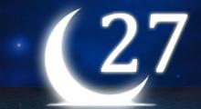 Толкование снов в 27 двадцать седьмой лунный день