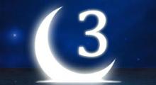 Толкование снов в 3 третий лунный день