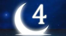 Толкование снов в 4 четвертый лунный день
