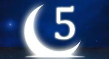 Толкование снов в 5 пятый лунный день
