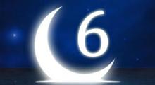 Толкование снов в 6 шестой лунный день
