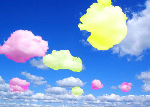 Энергетическая настройка на энергию Розово – золотых облаков