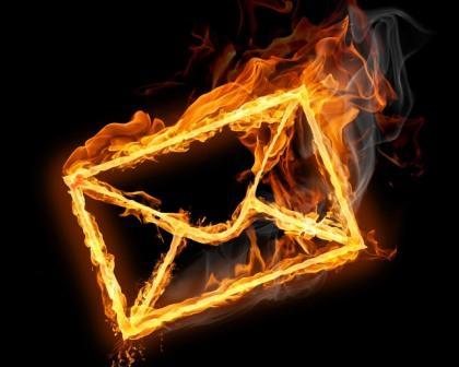придание письма огню
