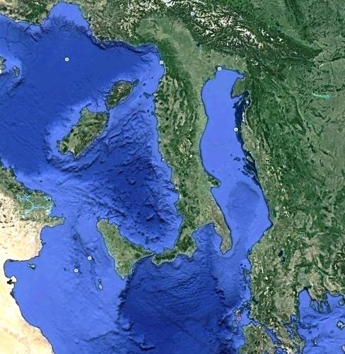 Италия всегда была сапогом правильной формы
