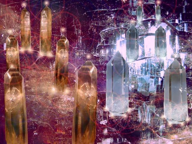 Кристаллы готовы сотрудничать с вами