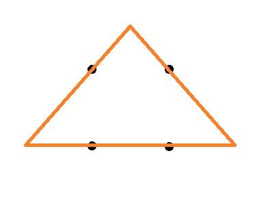 как соединить точки тремя линиями