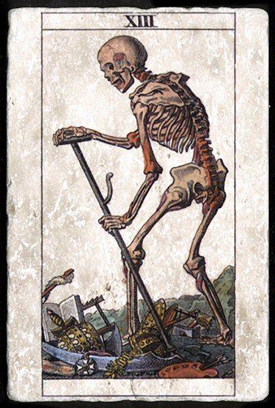 Значение карты таро смерть