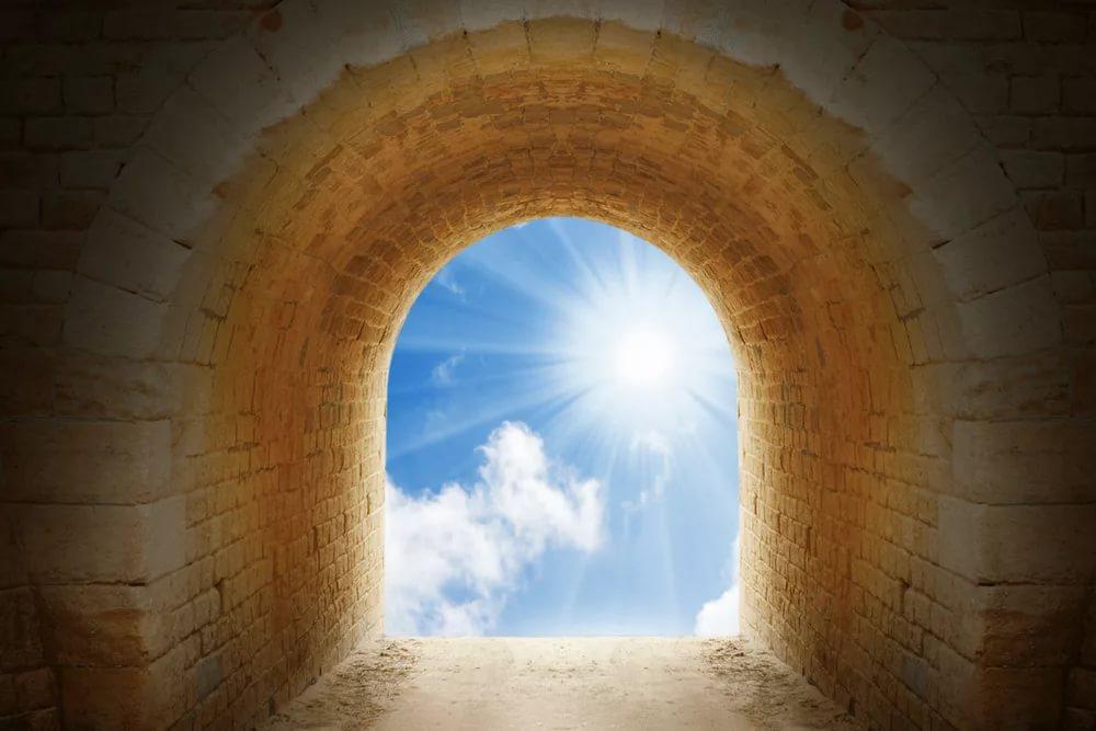 свет в коне туннеля