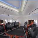 самолет химтрейла из нутри