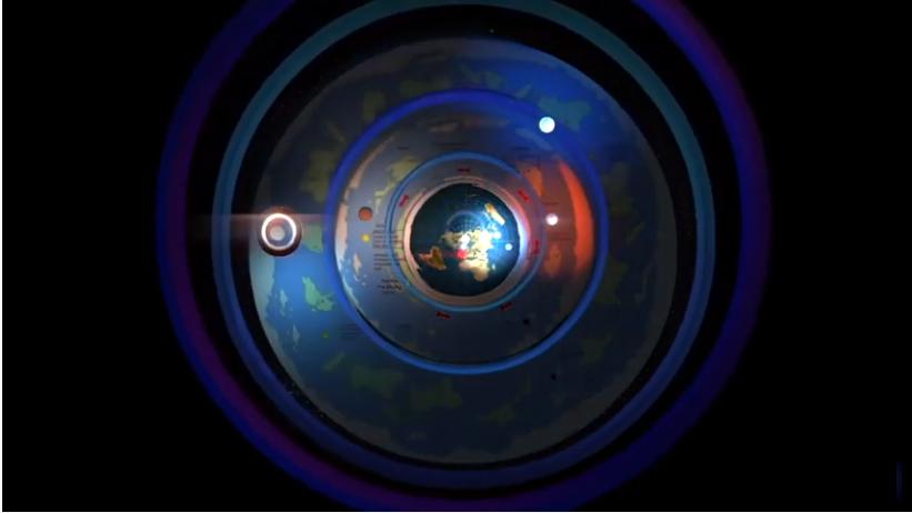 3d модель мира